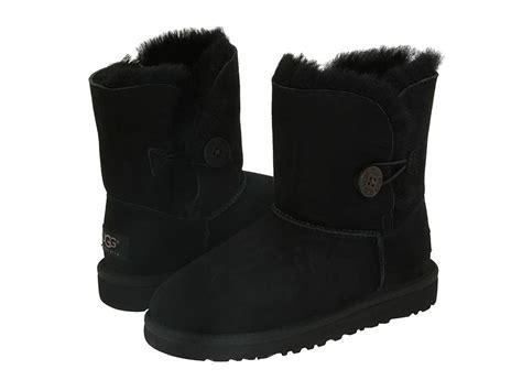 ugg australia bailey button s black boots 5803