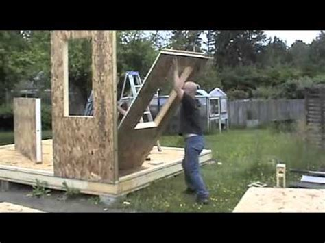 building with sips building a shed with sips youtube