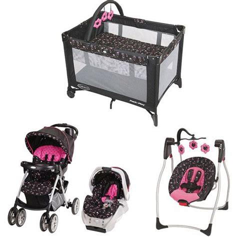 car seat stroller pack and play bundle includes the stroller car seat pack n play swing and