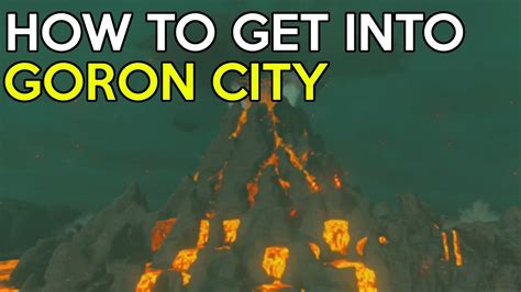 how to get how to get into goron city flamebreaker armor set