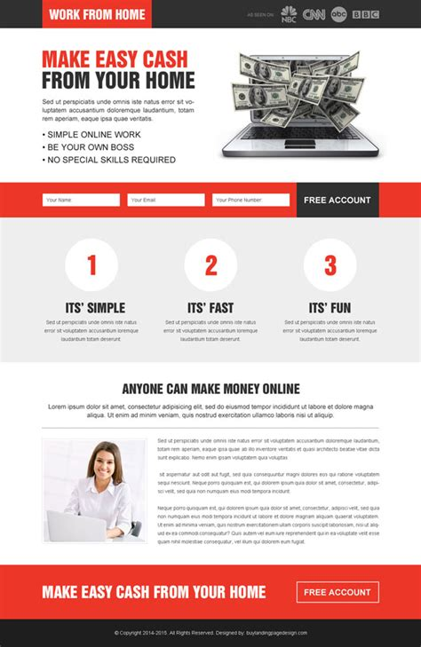 landing page design templates landing page design exles to drive conversions for your