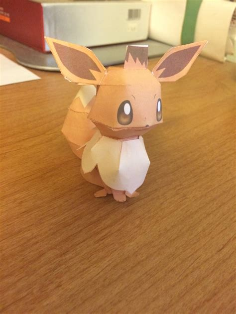 Eevee Papercraft - paper craft eevee by kingster333 on deviantart
