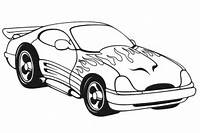 Coloring Race Car 2 Pages Sports