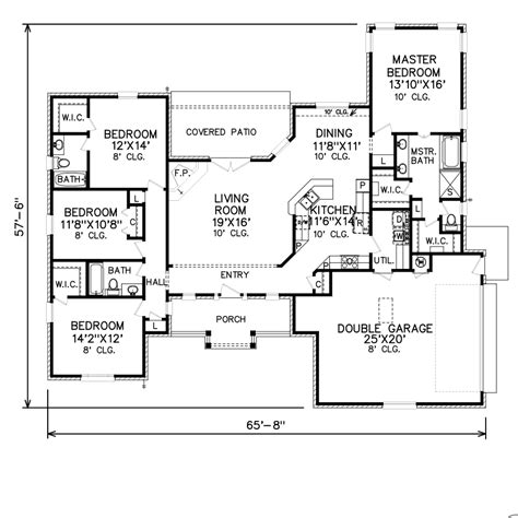 perry home plans floor plan 7526