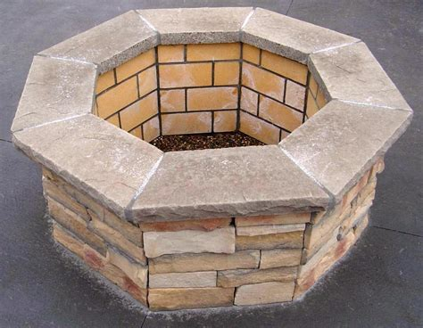 Gas Fire Pit Kit Diy Round Gas Fire Pit Kit Image Of Fire Gas Firepit Kit