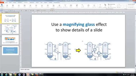 How To Make A Magnifying Glass Out Of Paper - powerpoint use a magnifying glass effect to show details