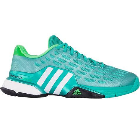Adidas Tennis Barricade 2016 Boost adidas barricade boost 2016 s tennis shoe green white