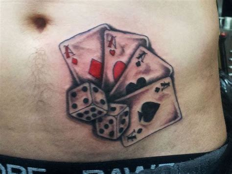 lucky dice tattoo designs best 25 card ideas on tarot card