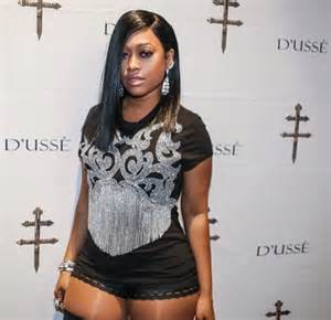 what she rock d trina in balmain embellished fringe tee christalrock com
