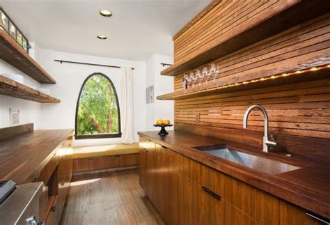 wood kitchen walls modern kitchen design ideas