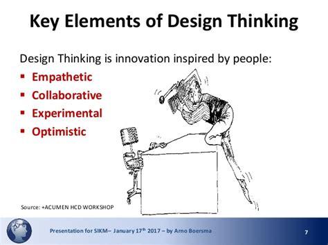 design thinking knowledge management design thinking for knowledge management