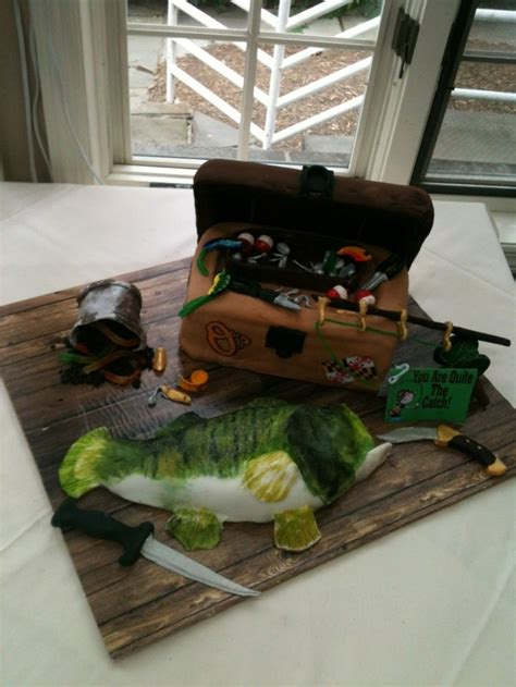 Wedding Tackle Box by 25 Best Ideas About Bass Fish Cake On Fishing
