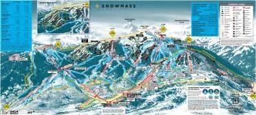 skiing colorado map snowmass aspen colorado snowmass snowmass