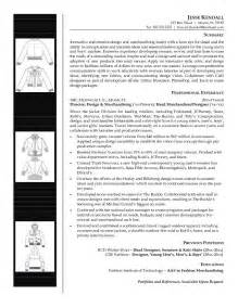 Fashion Merchandising Resume Exles by Fashion Merchandising Resume Sle Resumes Design