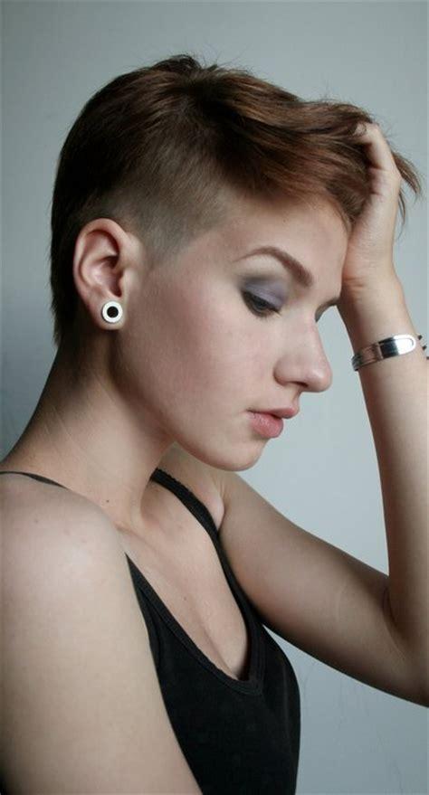 side cut hairstyles for women the pixie revolution pixie cut sidecut undercut buzzed