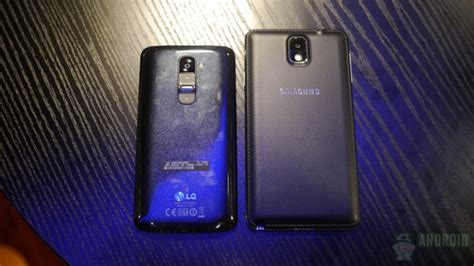 samsung galaxy note 3 vs lg g2 android authority