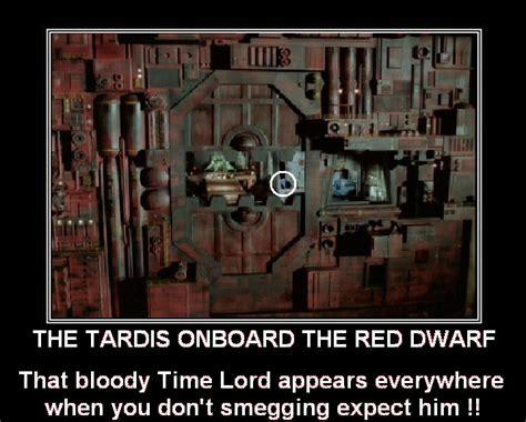 Tardis Meme - image the tardis onboard the red dwarf by doctorwhoone