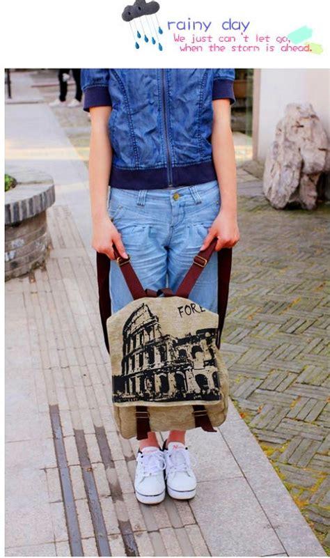 Tm6476 Tas Import Murah Fashion Korea Kuliah Kerja Kantor Santai Jalan tas ransel wanita keren model terbaru jual murah