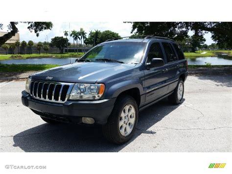 blue jeep grand 2001 2001 steel blue pearl jeep grand laredo 96879698