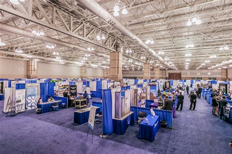 trade show drapes and pipes convention center interiors meetac photo source