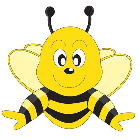 Free Honey Bee Clip by Fuzzy Clipart Bee Pencil And In Color Fuzzy Clipart Bee