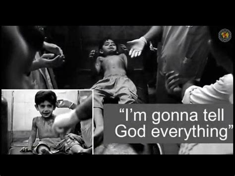I?m gonna tell *** everything: 3 year old Syrian boy's
