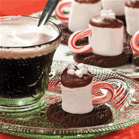Hot chocolate marshmallows free christmas recipes coloring pages