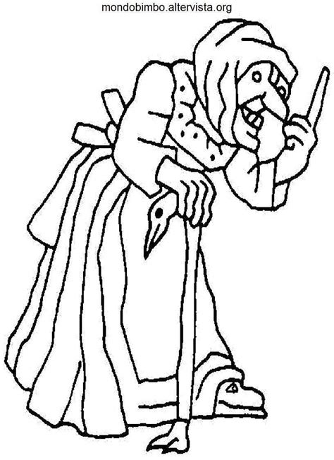 free coloring pages of la befana