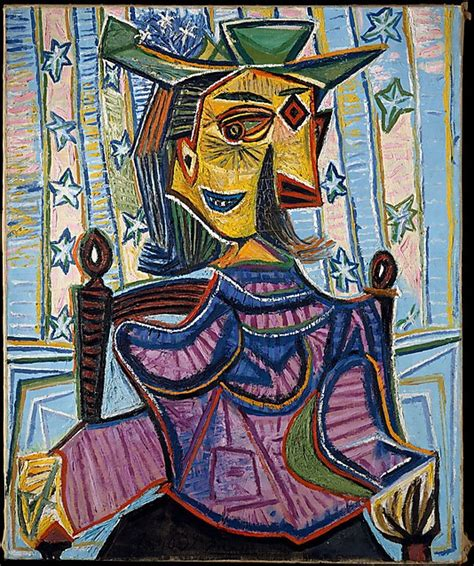 dora maar in an armchair notre bvc the metropolitan museum of art art moderne et