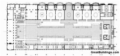 musee d orsay floor plan great buildings drawing musee d orsay