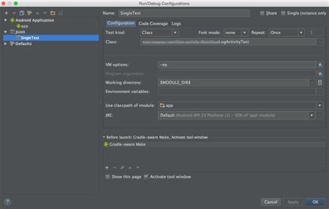 android studio unit test tutorial junit how to run unit tests with android studio stack