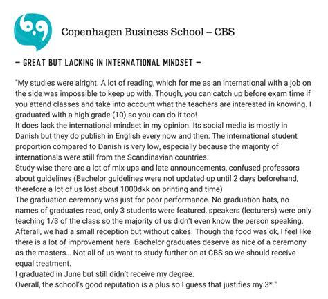 Copenhagen Business School Mba Scholarships by School Of Business Psb Vs Copenhagen Business