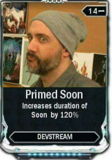 Soon Tm Meme - regarding devstream 100 warframe