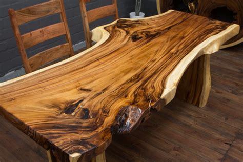Baumstamm Als Tisch by Esstisch Holz Massiv Baumstamm Suar 200x91x78 Natur Tisch