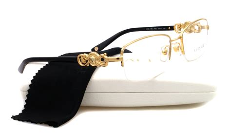 new versace eyeglasses ve 1199 gold 1002 ve1199 ebay