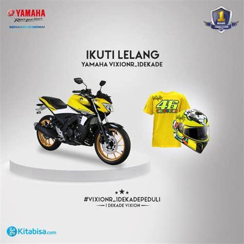 Sayap Dalam R 5er Warna Hitam Asli Yamaha modif striping yamaha vixion r livery 60th anniversary ardiantoyugo
