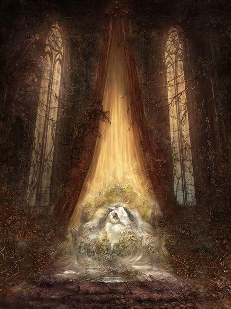 artwork filianores rest dark souls iii fromsoftware