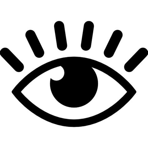 imagenes de ojos sin fondo ojo con pesta 241 as iconos gratis de gestos