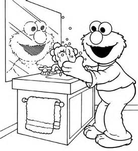 Hand Washing For Kids Coloring Pages Coloring Home Washing For Coloring Pages