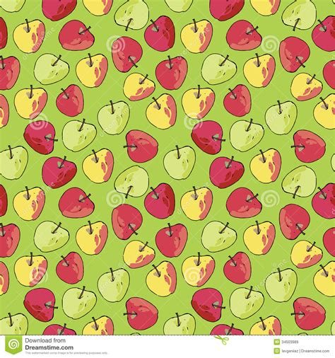 pattern apple background beautiful apple pattern royalty free stock images image