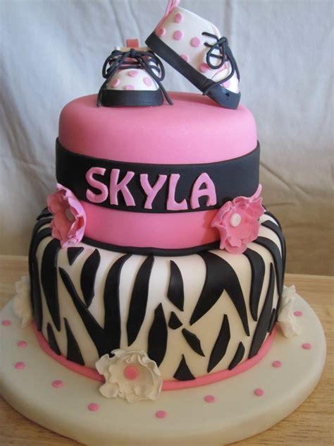 zebra baby shower cakes zebra themed baby shower cake cakecentral