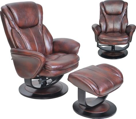 Barcalounger Ottoman barcalounger roma ii recliner chair and ottoman leather