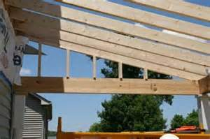 How To Build An Awning Over A Patio Building A Porch Roof Porch Roof Framing