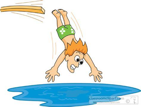 a jumping in a pool clipart clipground die drei neuen