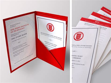 Lot House Foundry Presidential Inauguration Invitation Foundry