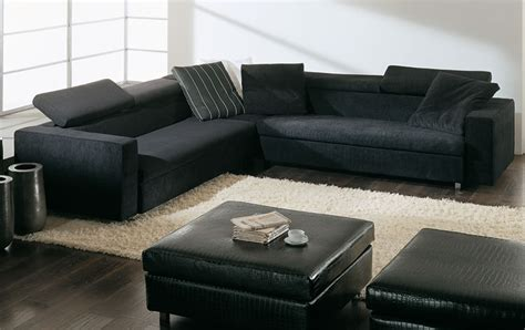 dark couch beautiful leather black sofa for living room plushemisphere