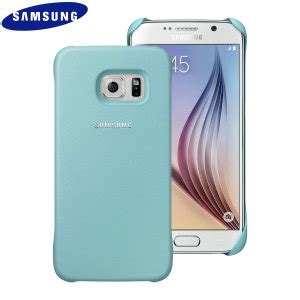 Official Samsung Galaxy S6 Edge Protective Cover Mint official samsung galaxy s6 protective cover mint