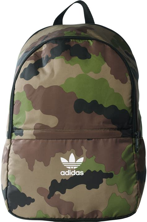Camouflage Backpack adidas essential camo rucksack camo
