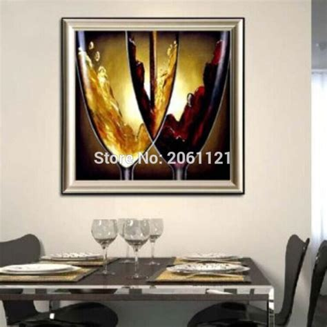 hand painted home decor hand painted modern dining room decorative oil paintings