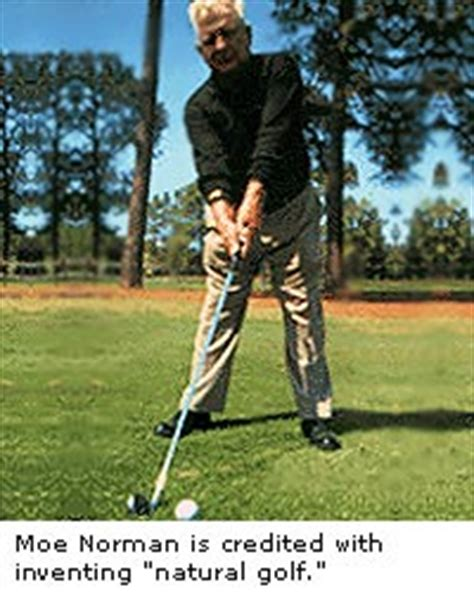 natural golf single plane swing natrall norman biography